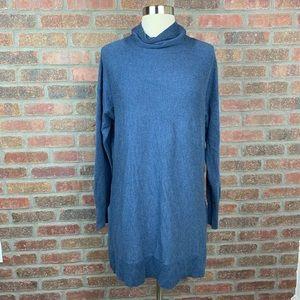 Soft Surroundings Metro Tunic Knit Sweater, Sz M
